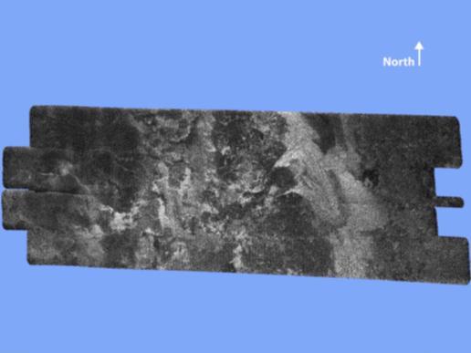 Surface streaks on Titan