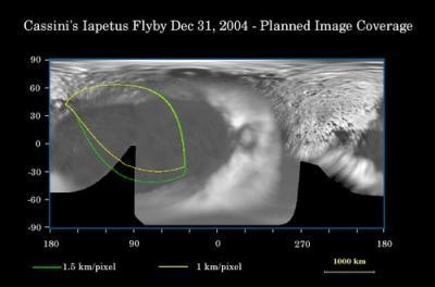 Iapetus coverage map