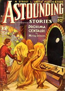 Cover illustration for \'Proxima Centauri\'