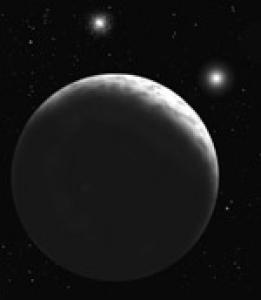 Sedna\'s missing moon visualized