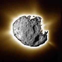 Photograph of comet Wild 2