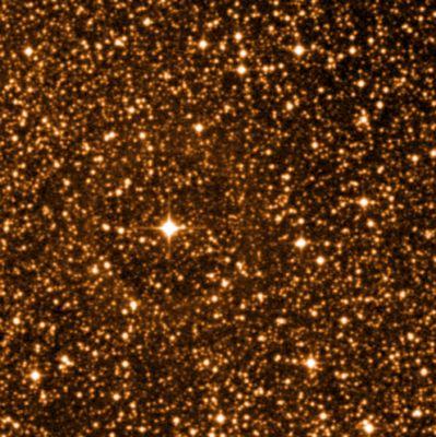 Infrared image of Proxima Centauri