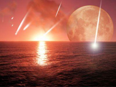Earth in an early epoch