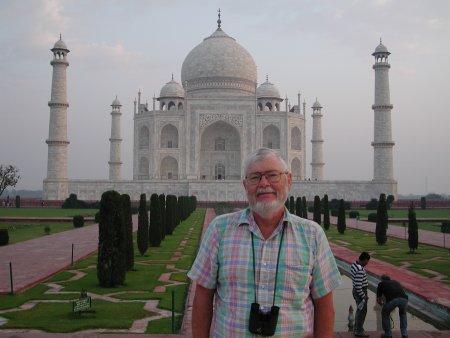 Benford at Taj Mahal