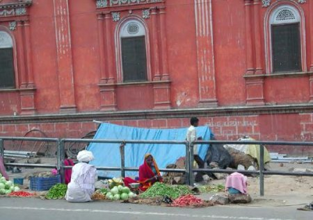 Vegetable vendors in Jaipur