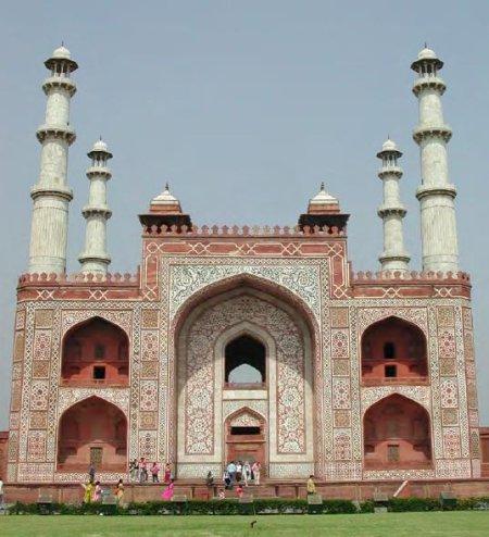 The Sikandra mausoleum