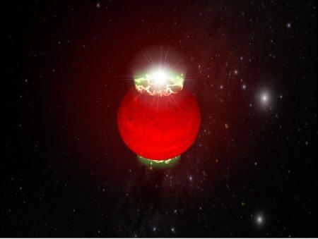 Aurorae on a brown dwarf