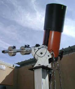One of Vanmunster's telescopes