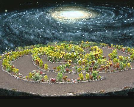 Galaxy Garden in perspective