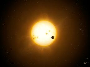 Transiting 'hot Jupiter'