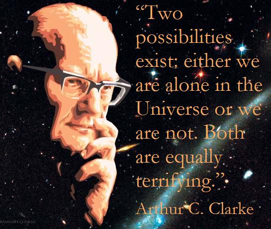 Arthur C. Clarke quote