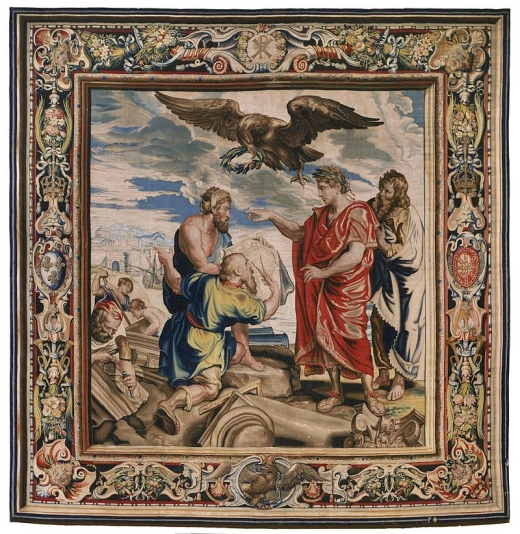 Constantine_Directing_the_Building_of_Constantinople_(tapestry)_-_1623-1625